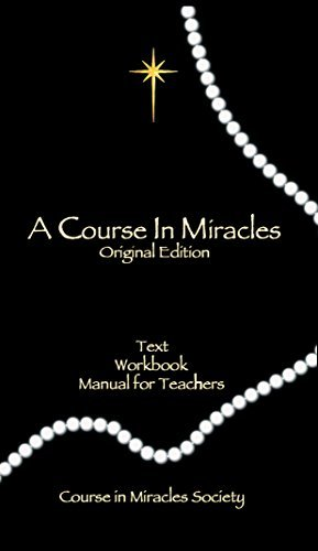 Helen Schucman A Course In Miracles Original Edition Text Workbook For Students Manual For Teachers