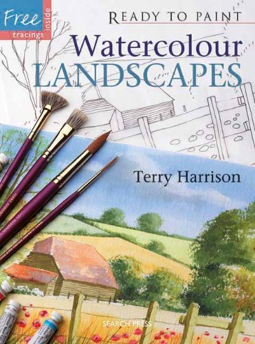 Terry Harrison Watercolour Landscapes [with Six Reusable Tracings