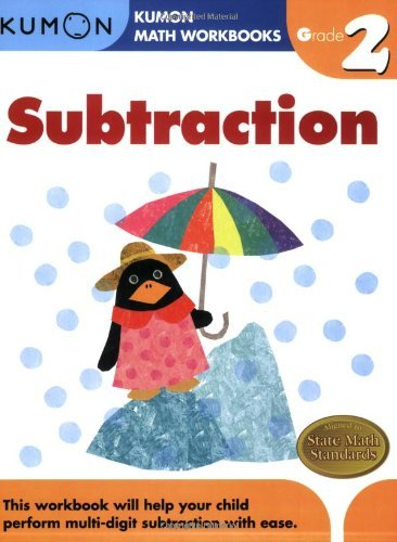 Michiko Tachimoto Subtraction Grade 2 Workbook