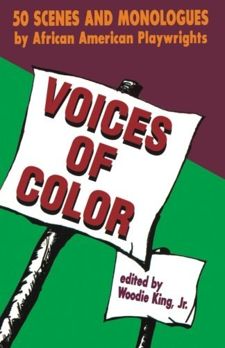 King Martin Luther Jr. Voices Of Color 50 Scenes And Monologues By African American Play