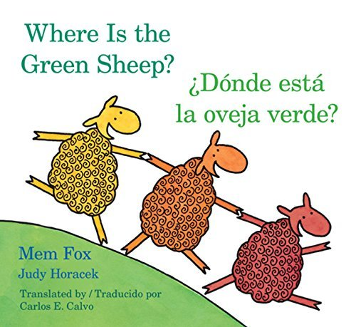 Mem Fox Donde Esta La Oveja Verde? Where Is The Green Shee