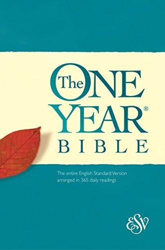 Crossway Bibles One Year Bible Esv