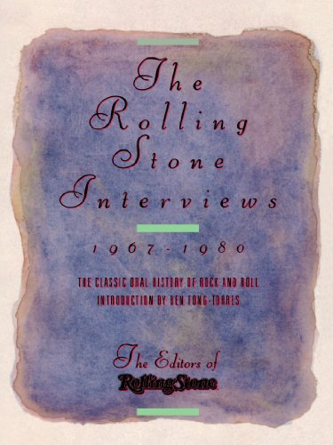 Peter Herbst The Rolling Stone Interviews 1967 1980