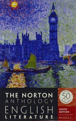 Stephen Greenblatt The Norton Anthology Of English Literature Packag 0009 Edition;