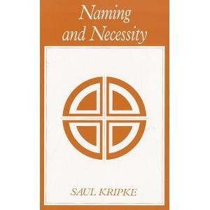 Saul A. Kripke Naming And Necessity