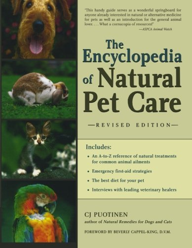 C. J. Puotinen The Encyclopedia Of Natural Pet Care 0002 Edition;rev