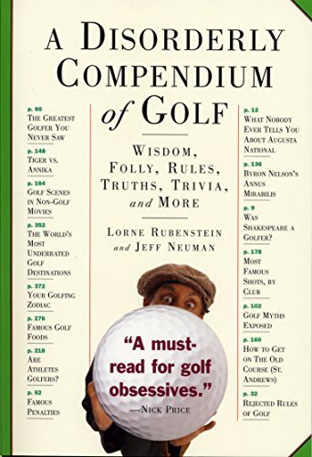 Jeff Neuman A Disorderly Compendium Of Golf