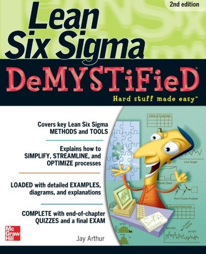 Jay Arthur Lean Six Sigma Demystified 0002 Edition;