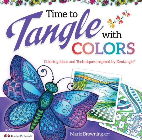 Marie Browning Time To Tangle With Colors