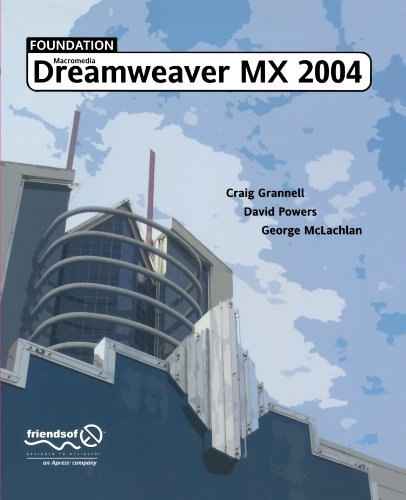 George Mclachlan Foundation Dreamweaver Mx 2004 Softcover Repri