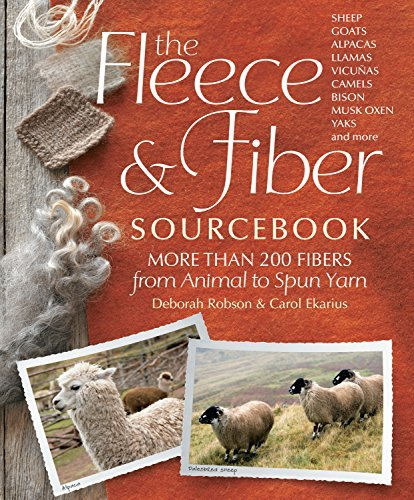 Carol Ekarius The Fleece & Fiber Sourcebook More Than 200 Fibers From Animal To Spun Yarn
