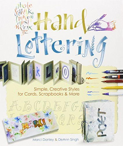 Prolific Impressions Inc Hand Lettering Simple Creative Styles For Cards Scrapbooks & M