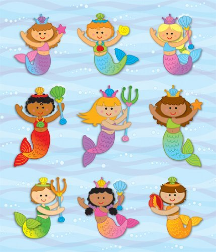 Carson Dellosa Publishing Mermaids Prize Pack Stickers