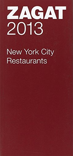 Zagat Survey 2013 New York City Restaurants
