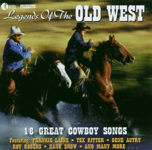 Legends Of The Old West (18 Tracks) Ed Bruce Frankie Laine Eddie Arnold Faron Young