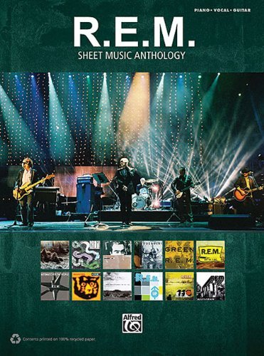 R.E.M. R.E.M. Sheet Music Anthology Piano Vocal Guitar