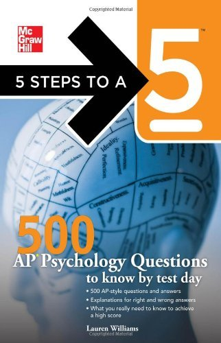 Lauren Williams 5 Steps To A 5 500 Ap Psychology Questions To Know