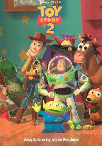 Leslie Goldman Toy Story 2 Junior Novel Book Club Edition