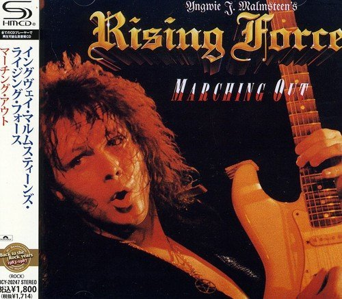 Yngwie Malmsteen Marching Out Import Jpn Shm CD
