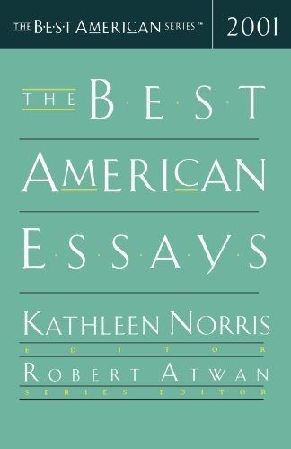 Kathleen Norris The Best American Essays 2001 Edition;2001