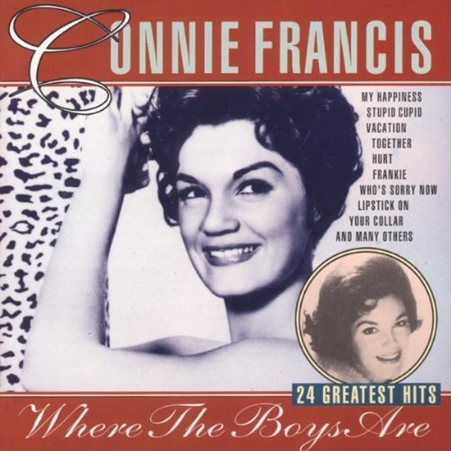 Connie Francis Where Boys Are 24 Gr.Hits Import Eu