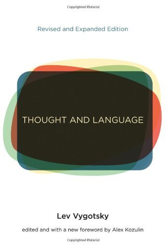 Lev S. Vygotsky Thought And Language Revised Expand