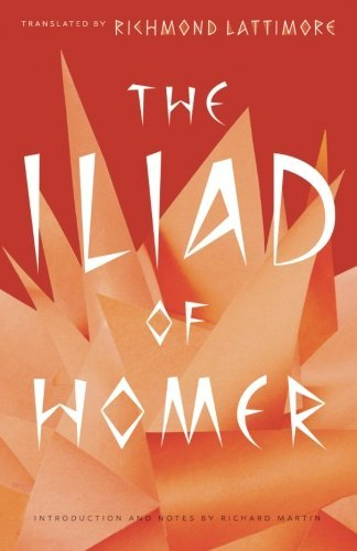 Homer The Iliad Of Homer
