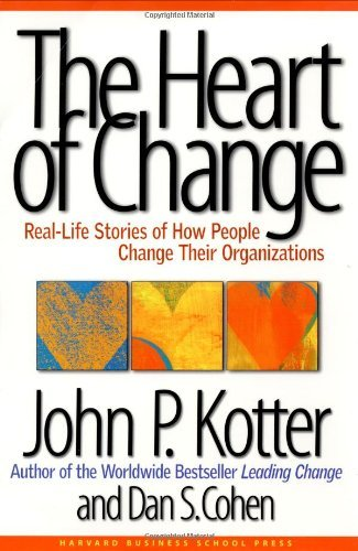 John P. Kotter Heart Of Change The Real Life Stories Of How People Change Their Orga