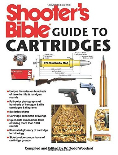 W. Todd Woodard Shooter's Bible Guide To Cartridges
