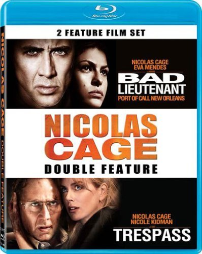 Bad Lieutenant Trespass Cage Nicolas Blu Ray Ws R