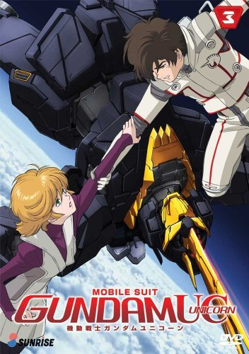 Mobile Suit Gundam Unicorn Part 3 DVD Nr