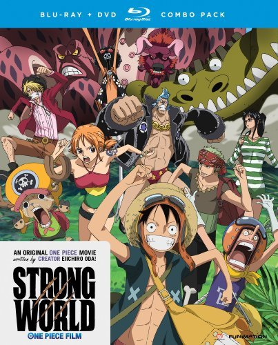 One Piece Strong World Blu Ray DVD Nr