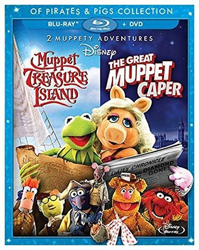 Great Muppet Caper Muppet Treasure Island Double Feature Blu Ray G Ws