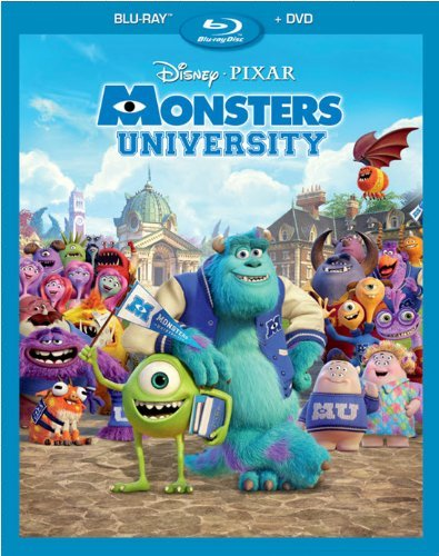 Monsters University Monsters University Blu Ray DVD G Ws