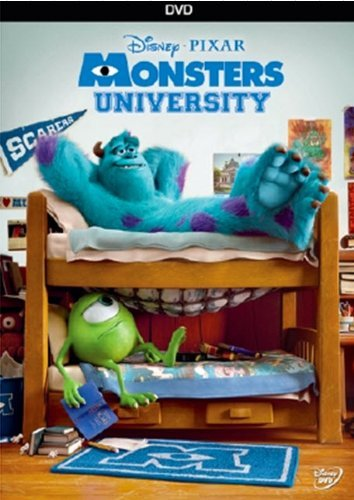 Monsters University Disney DVD G Ws