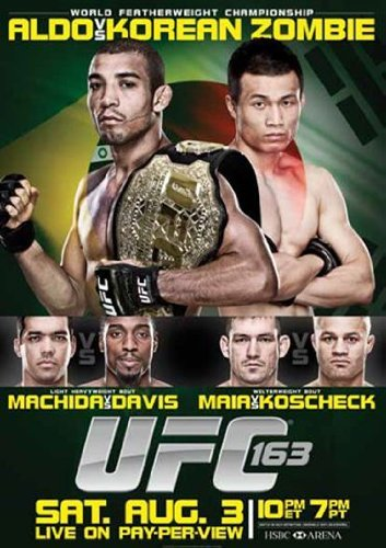 Ufc 163 Aldo Vs. Korean Zombie Ufc Ws Nr 2 DVD