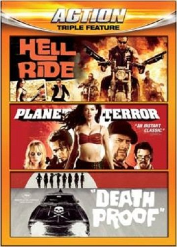 Hell Ride Planet Terror Death Action Triple Feature Nr