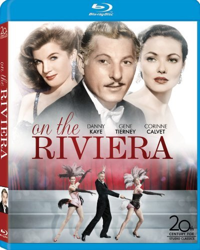On The Riviera Kaye Tierney Calvet Blu Ray Nr