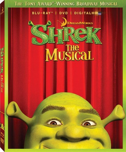 Shrek The Musical Shrek The Musical Blu Ray Ws Nr
