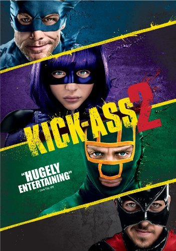 Kick Ass 2 Taylor Johnson Moretz DVD R Ws