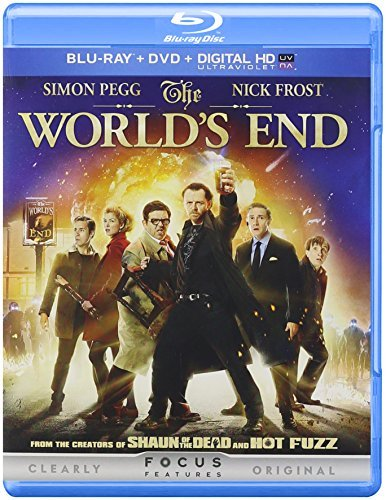 World's End Pegg Frost Blu Ray DVD Dc R
