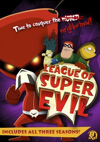League Of Super Evil Megaset League Of Super Evil Megaset Nr 8 DVD