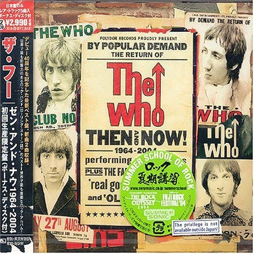 Who Then & Now 1964 2004 Japanese Import