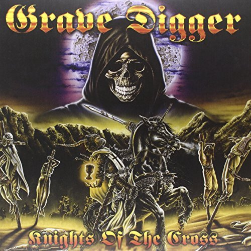 Grave Digger Knights Of The Cross Lmtd Ed. Clear Vinyl 2 Lp