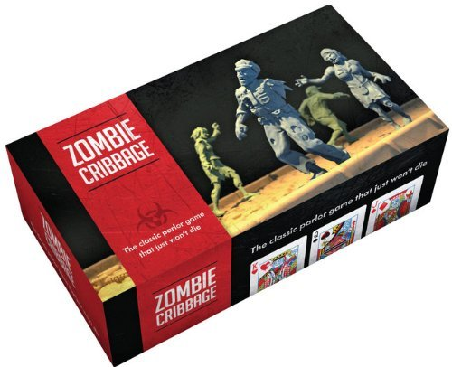 Board Game Zombie Cribbage The Classic Parlor Game That Just Won't Die