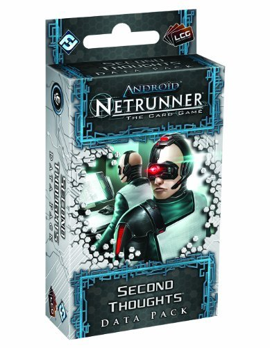 Fantasy Flight Games Android Netrunner Lcg Second Thoughts Data Pack