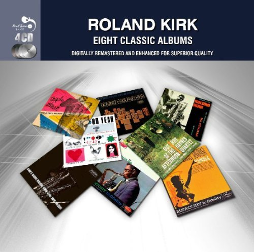 Roland Kirk 8 Classic Albums Import Gbr 4 CD