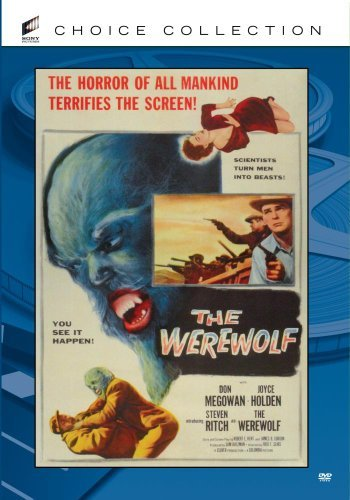 Werewolf (1956) Ritch Tanin Holden Megowan Cha Made On Demand Nr