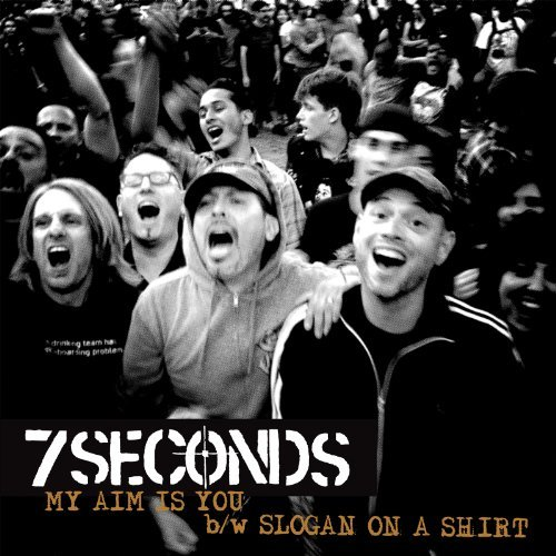 7 Seconds My Aim Is You 7 Inch Single Volored Vinyl