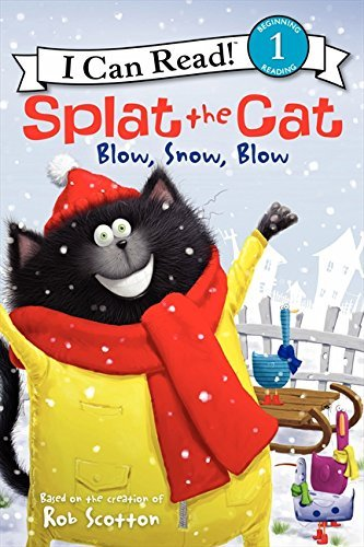 Rob Scotton Splat The Cat Blow Snow Blow
